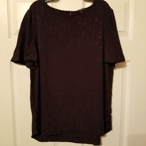 Ann Taylor blouse with Martin's size LP